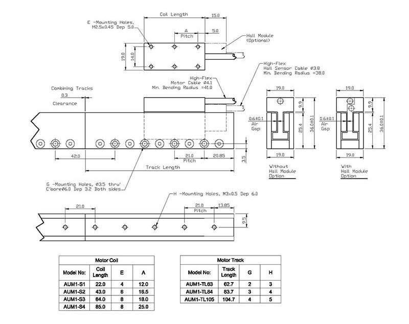 Akriis直线电机