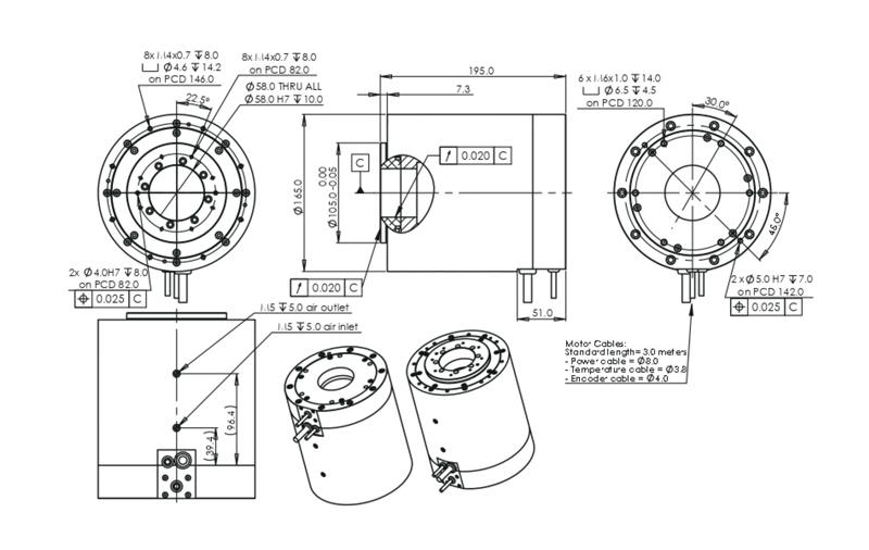 高速力矩电机ADR-H